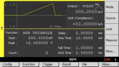 Keysight B2962A 6.5 Digit Low Noise Power Source, 32W, 210V, 3A, 2ch