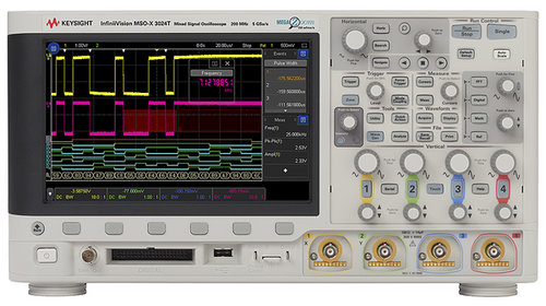 Keysight DSOX3024T Oscilloscope, 4-channel, 200MHz