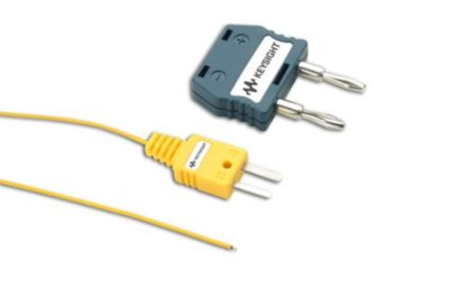 Keysight U1186A Thermocouple (K-type, 1m) and adapter